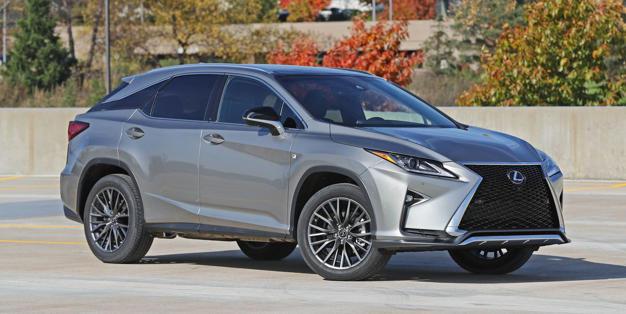 2018 Lexus Rx Exterior Design And Dimensions