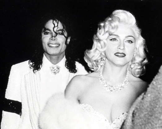 Slide 15 de 21: 63rd Annual Academy Awards - After Party at Spago's Hosted by Swifty Lazar Michael Jackson and Madonna (Photo by Ron Galella/WireImage)