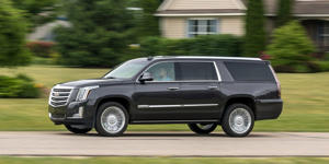Blinded by the Bling: 2018 Cadillac Escalade Tested in Depth: Read our most comprehensive review of the 2018 Cadillac Escalade's standard features, trim levels, and available options.
