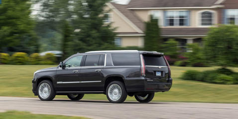 From airbag count and location to crash-test results and available active-safety systems such as automated emergency braking, see how the Escalade stacks up.