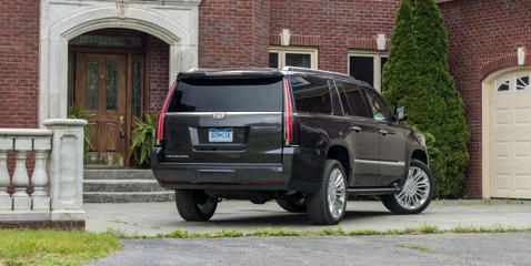 See how the Escalade fares in our storage tests, including cargo space and the size of interior storage cubbies.