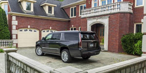 Video Overview: Interior, Infotainment, Cargo Space: A compilation of all the video we've recorded on the Cadillac Escalade, from cargo loading to rear-seat space to infotainment testing.