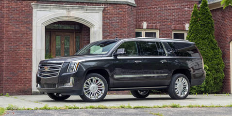 Get a detailed review of the Escalade's exterior design and see how its dimensions match up with the competition.