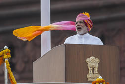 Narendra Modi's different headgears