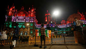 Monuments across India light up for I-Day