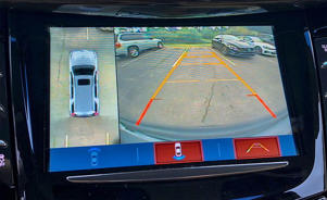 a screen shot of a computer monitor: 2018 Cadillac Escalade ESV backup camera
