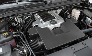 a car engine: 2018 Cadillac Escalade ESV Engine