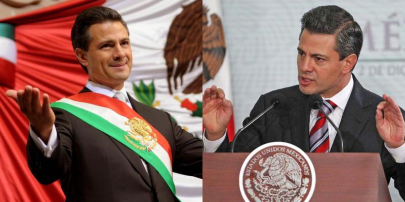 """Enrique Peña Nieto. Tomó el cargo en 2012 a los 46 años y en el transcurso de su sexenio tuvo que enfrentar casos como la """"Casa Blanca"""", Ayotzinapa, Tlatlaya, los miles de muertos por violencia y lidiar con Trump. Su periodo lo terminará a los 52 años."""