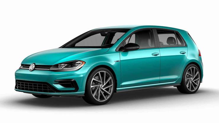 Slide 2 de 8: VW Golf R 2019 - Color Spektrum Program