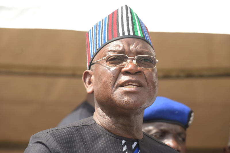 Governor of Benue State Samuel Ortom