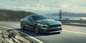 Riding 480 Loud Horses: 2019 Ford Mustang Bullitt Driven!: This fall, it will be 50 years since Steve McQueen's Bullitt film created a Mustang legend. We've just driven the 2019 Ford Mustang Bullitt with 480 stampeding horses around San Francisco. Read the first-drive review and see photos at Car and Driver.