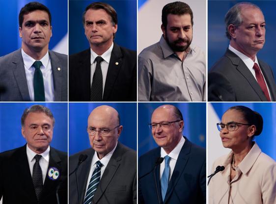 Slide 1 de 20: Candidatos à Presidência da República debatem na RedeTV!