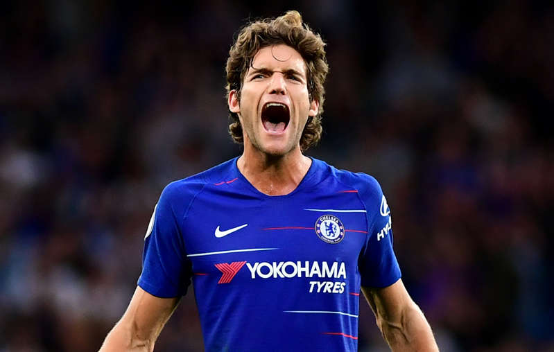 Marcos Alonso landed the decisive blow as Chelsea piled more misery on new Arsenal boss Unai Emery.