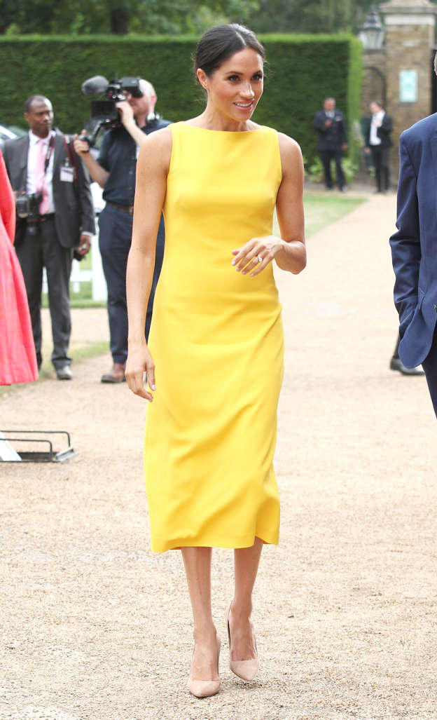 e9d2b3428ba30 The Duchess of Sussex during the Your Commonwealth Youth Challenge  reception at Marlborough House in London