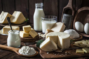 Cheese and yogurt were found to protect against death from any cause, a new study suggests. But whole milk appeared to increase heart risks.