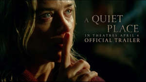 Those who have survived live by one rule: never make a sound. Watch the new trailer for #AQuietPlace, starring Emily Blunt and John Krasinski. In theatres April 6. #StayQuiet  Facebook: https://www.facebook.com/AQuietPlaceMovie Twitter: https://twitter.com/QuietPlaceMovie Instagram: https://www.instagram.com/AQuietPlaceMovie  Paramount Pictures Corporation (PPC), a major global producer and distributor of filmed entertainment, is a unit of Viacom (NASDAQ: VIAB, VIA), home to premier global media brands that create compelling television programs, motion pictures, short-form content, apps, games, consumer products, social media experiences, and other entertainment content for audiences in more than 180 countries.  Connect with Paramount Pictures Online:  Official Site: http://www.paramount.com/ Facebook: https://www.facebook.com/Paramount Instagram: http://www.instagram.com/ParamountPics Twitter: https://twitter.com/paramountpics YouTube: https://www.youtube.com/user/Paramount""