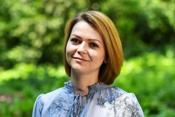Yulia Skripal was poisoned alongside her father Sergei