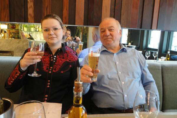 Former Russian spy Sergei Skripal and his daughter Yulia both survived the nerve agent poisoning