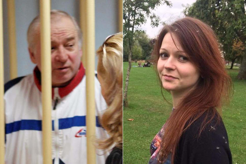 Sergei Skripal and his daughter Yulia were poisoned in the nerve agent attack on UK soil
