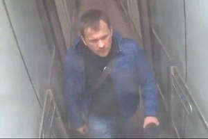 Alexander Petrov seen on CCTV at Gatwick airport at 3pm on March 2