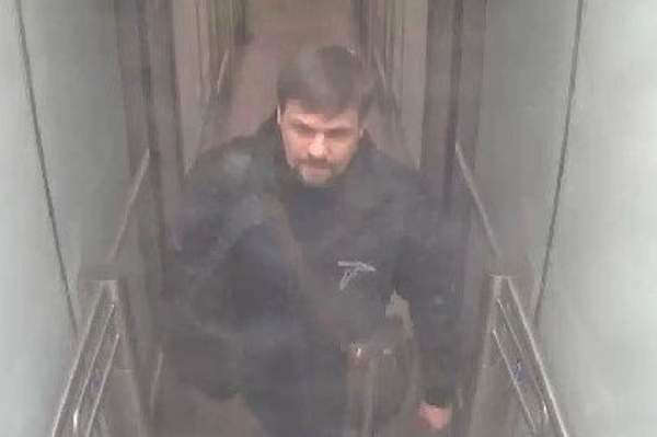 'Ruslan Boshirov captured in the same CCTV at Gatwick