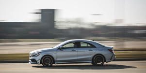 Fuel Economy and Driving Range: The Mercedes-AMG CLA45 has above-average EPA estimates and proved its fuel efficiency in our real-world testing.