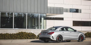 Video Overview: Interior, Infotainment, Cargo Space: Our videos of the Mercedes-AMG CLA45 illustrate what its specs look like in reality.