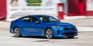 The Kia Stinger GT Continues to Grow on Us: One-quarter of the way through its long-term test, our Kia Stinger GT gets stickier summer rubber.