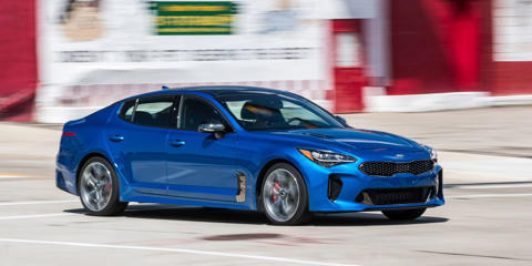 One-quarter of the way through its long-term test, our Kia Stinger GT gets stickier summer rubber.