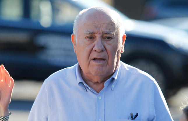 Slide 65 of 67: Amancio Ortega has a mammoth net worth of $70 billion (A?55bn) and is the sixth richest person in the world. How did he do it? He co-founded Inditex, best known for its Zara fashion chain, which he started in 1975. But Ortega came from very humble beginnings.