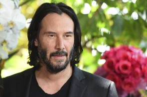 "Keanu Reeves attends the ""Destination Wedding"" photo call on Saturday, Aug. 18, 2018, in Los Angeles. (Photo by Jordan Strauss/Invision/AP)"