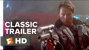 Starring: Arnold Schwarzenegger, Linda Hamilton and Michael Biehn The Terminator (1984) Official Trailer - Arnold Schwarzenegge Movie  A human-looking indestructible cyborg is sent from 2029 to 1984 to assassinate a waitress, whose unborn son will lead humanity in a war against the machines, while a soldier from that war is sent to protect her at all costs.  Subscribe to CLASSIC TRAILERS: http://bit.ly/1u43jDe Subscribe to TRAILERS: http://bit.ly/sxaw6h Subscribe to COMING SOON: http://bit.ly/H2vZUn Like us on FACEBOOK: http://bit.ly/1QyRMsE Follow us on TWITTER: http://bit.ly/1ghOWmt  Welcome to the Fandango MOVIECLIPS Trailer Vault Channel. Where trailers from the past, from recent to long ago, from a time before YouTube, can be enjoyed by all. We search near and far for original movie trailer from all decades. Feel free to send us your trailer requests and we will do our best to hunt it down.