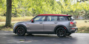 Interior and Passenger Space: The Mini Cooper Clubman JCW has love-it-or-hate-it interior styling.