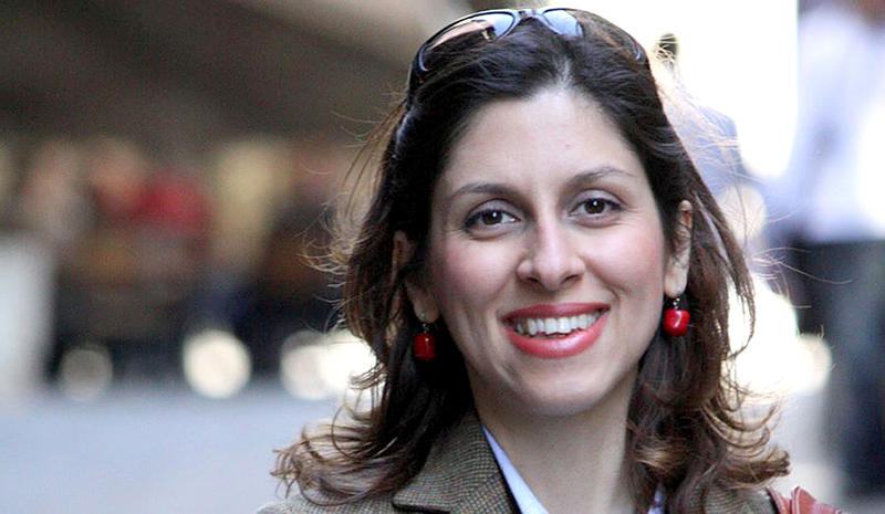 File photo of Nazanin Zaghari-Ratcliffem, who marks both her daughter Gabriella's fourth birthday and 800th day in jail having been accused of spying by the Iranian government.