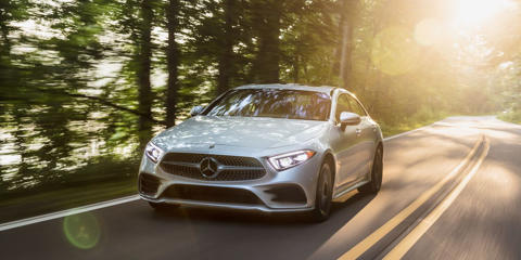 The CLS450 is powered by the brand's all-new straight-six. And it sings.
