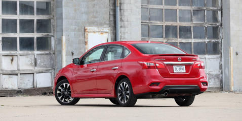 The Sentra offers enough space to keep up with the rivals tested here, but packaging issues prevent it from being truly great.