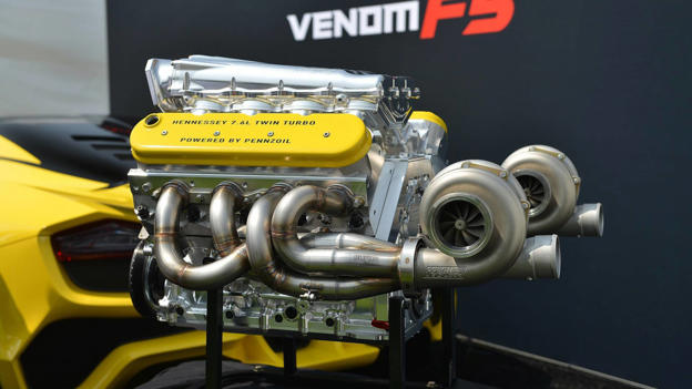 Hennessey Tested Its Venom F5 Engine At Over 2 000 Horsepower