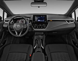 2019 Toyota Corolla Hatchback Se Interior Photos Msn Autos