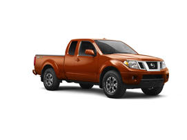 a close up of a car: 2017 Nissan Frontier