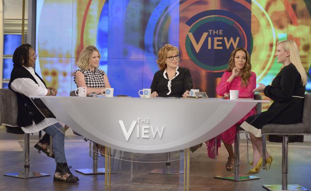 The View Cynthia Nixon Visits The View
