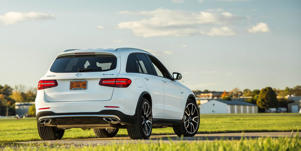 Cargo Space and Storage: In our testing, the Mercedes-AMG GLC43's carry-on capacity was enough to beat the smaller Porsche Macan's, but it was not up to the rest of the competitors'.