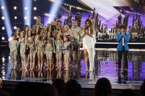 AMERICA'S GOT TALENT --  'Live Finale Results' Episode 1322 -- Pictured: (l-r) Zurcaroh, Tyra Banks, Shin Lim -- (Photo by: Trae Patton/NBC/NBCU Photo Bank via Getty Images)