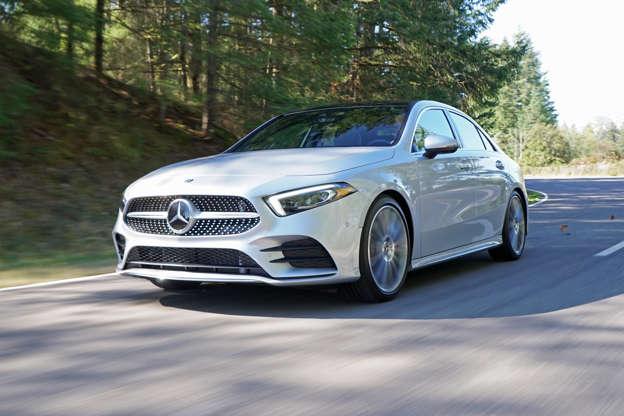 2019 Mercedes Benz A Class Sedan First Drive