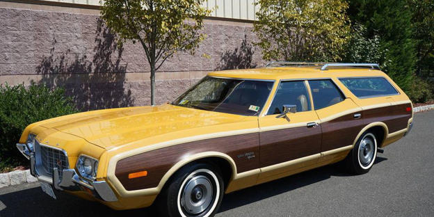 This Ford Gran Torino Squire Just Sold For  With Ultralow Miles This As