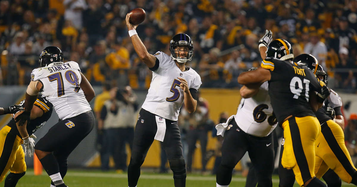 Flacco throws 2 TD passes 12a06ed81