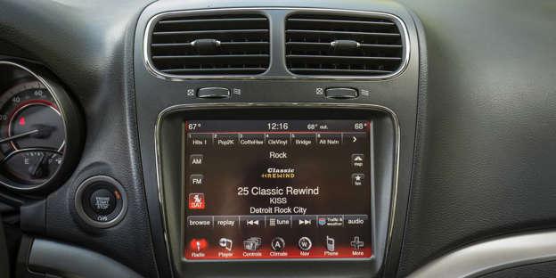 2019 Dodge Journey Audio And Infotainment