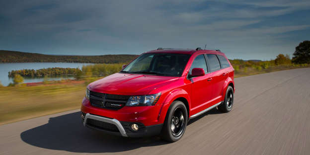 The Dodge Journey Is A Albeit Archaic Three Row Crossover