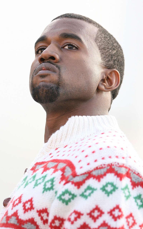 Kanye West during Kanye West in Concert at Santa Monica High School - December 5, 2005 at Santa Monica High School in Santa Monica, California, United States. (Photo by Jason Merritt/FilmMagic)