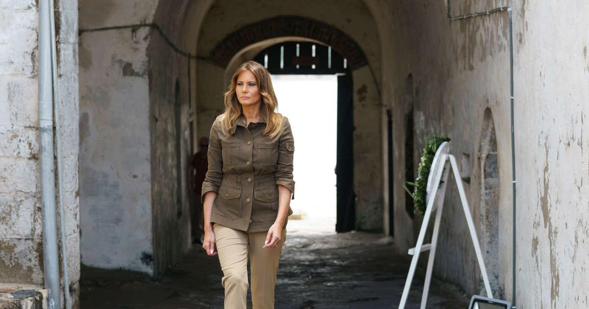 b6a1d01adaa181 Melania Trump  Style file