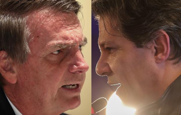 Bolsonaro e Haddad devem fazer o 2º turno